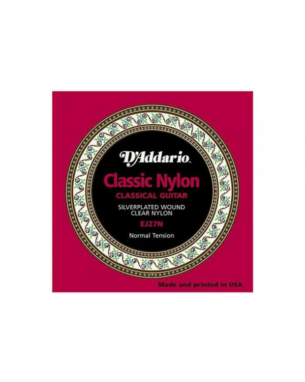 D'Addario EJ27N Student Nylon Classical Guitar Strings,Normal Tension
