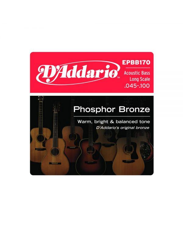 DAddario EPBB170 Bronze Acoustic Bass Strings Long Scale 45-100