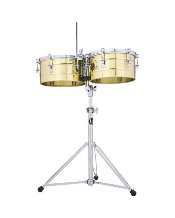 LP Tito Puente 13&14 Solid Brass Timbales