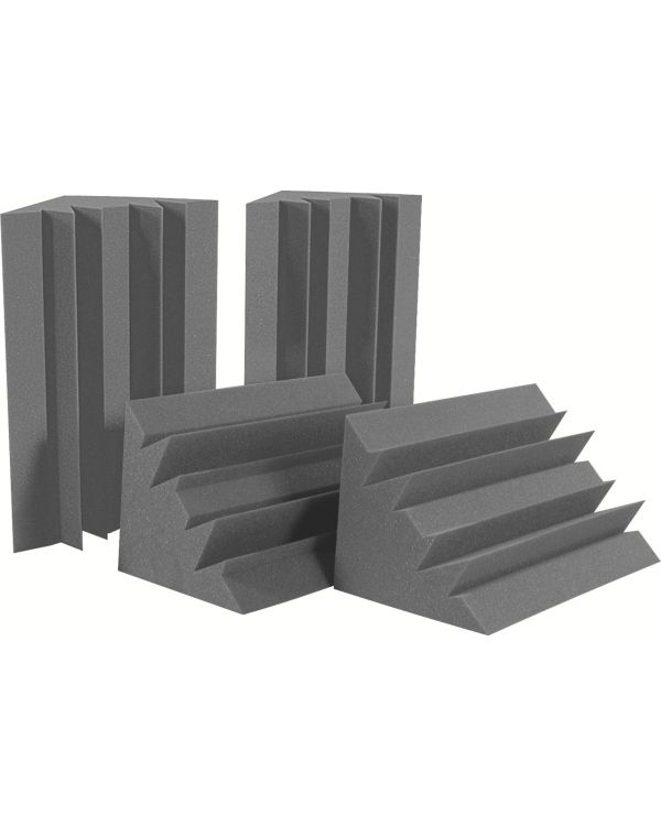 Auralex LENRD Bass Traps Half Box in Charcoal (4-Pack)