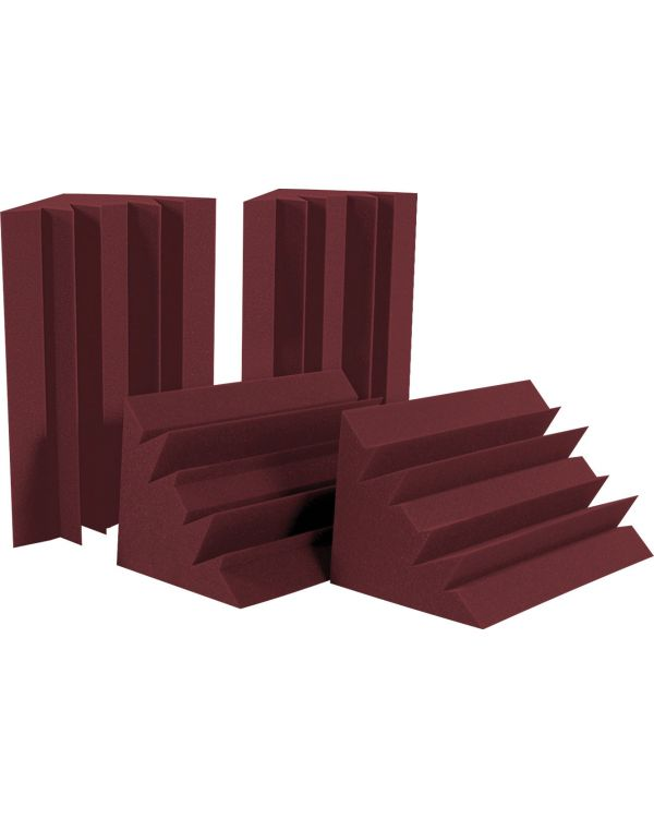 Auralex LENRD Bass Traps Half Box in Burgundy (4 Pack)