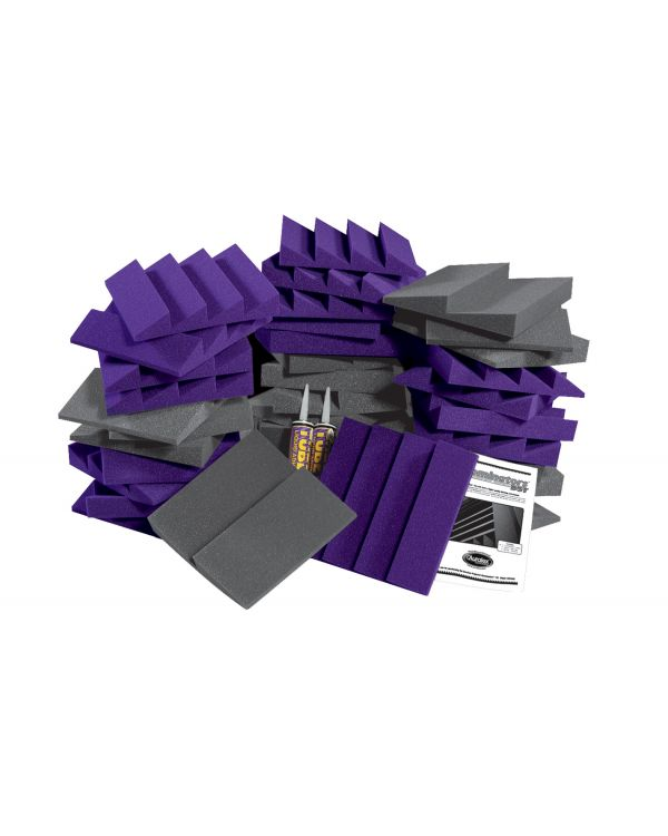 Auralex Alpha DST Room Kit in Charcoal / Purple