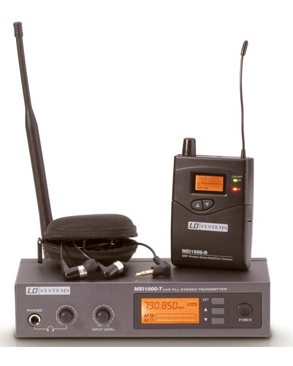 LD MEI1000 Wireless IN EAR Monitor System