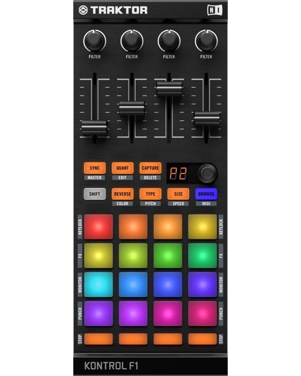 Native Instruments Traktor Kontrol F1 USB DJ Controller