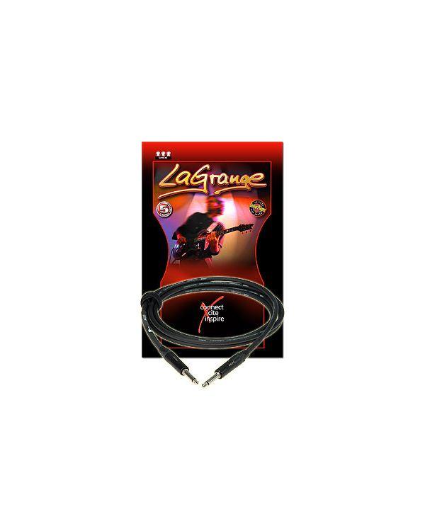 Klotz LAPP Jack to Jack LA-Grange Instrument Cable Black 6m
