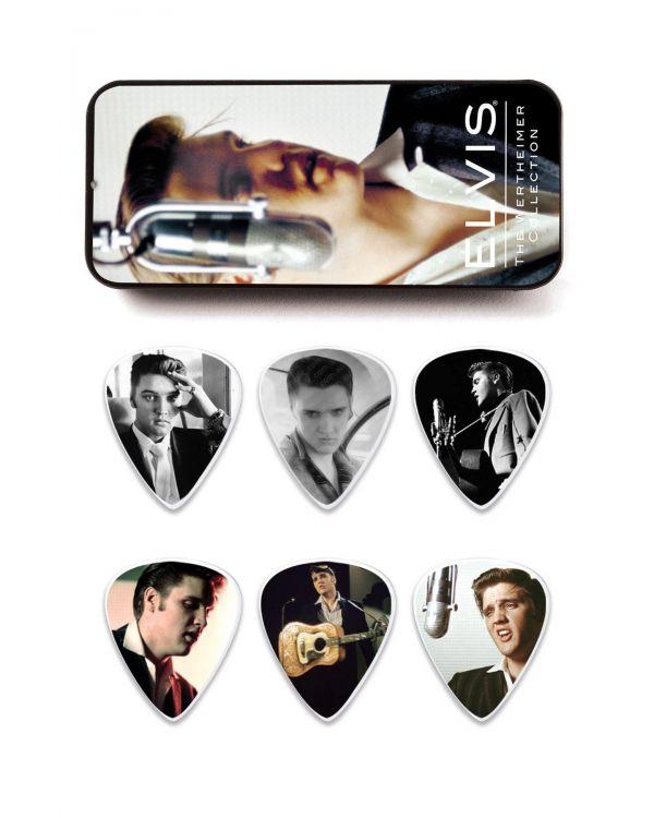 Dunlop Elvis Presley Wertheimer Pick TIN Medium - 12 Picks