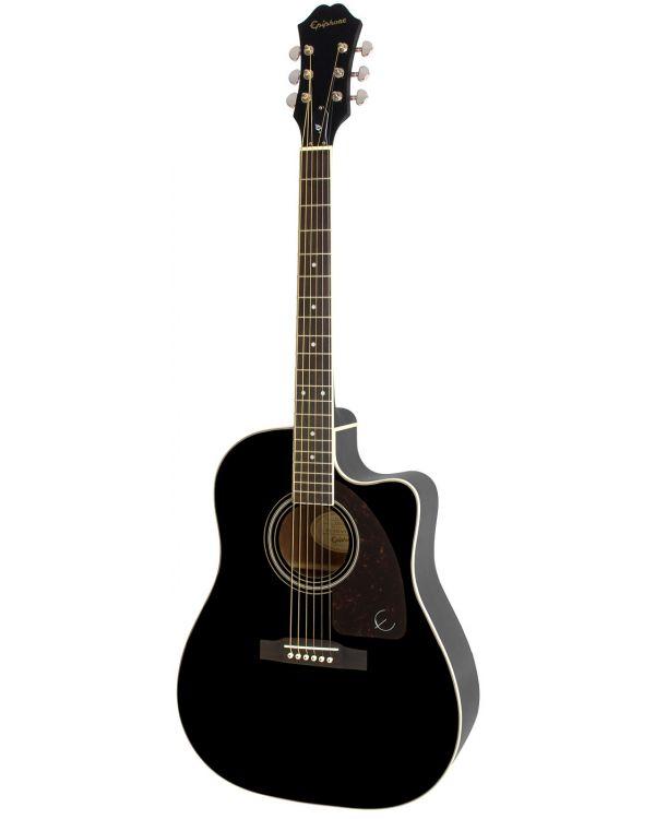 Epiphone AJ-220SCE Electro Acoustic Guitar Ebony