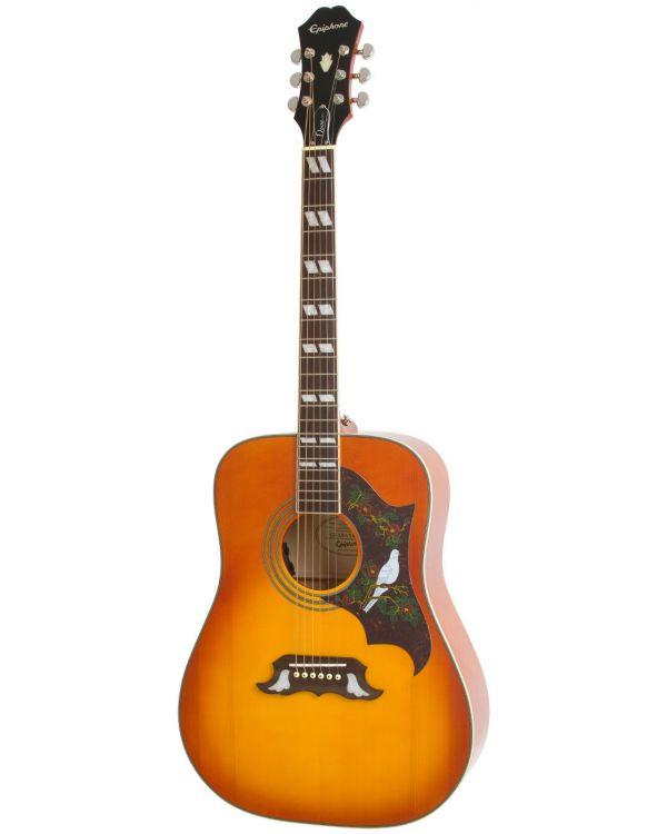 Epiphone Dove Pro Electro Acoustic, Cherry Sunburst