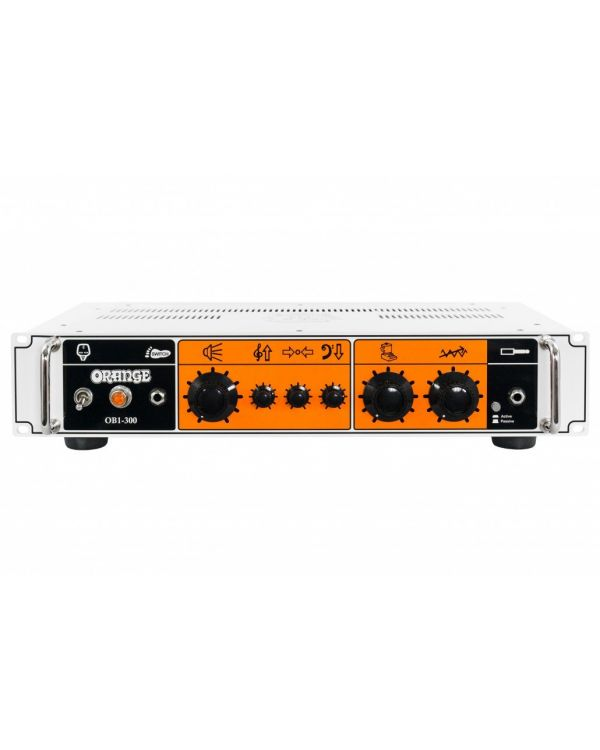 Orange OB1-300 Rack Mountable Bass Amplifier Head, 300 Watts