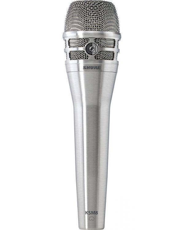 Shure KSM8 Dualdyne Microphone in Brushed Nickel