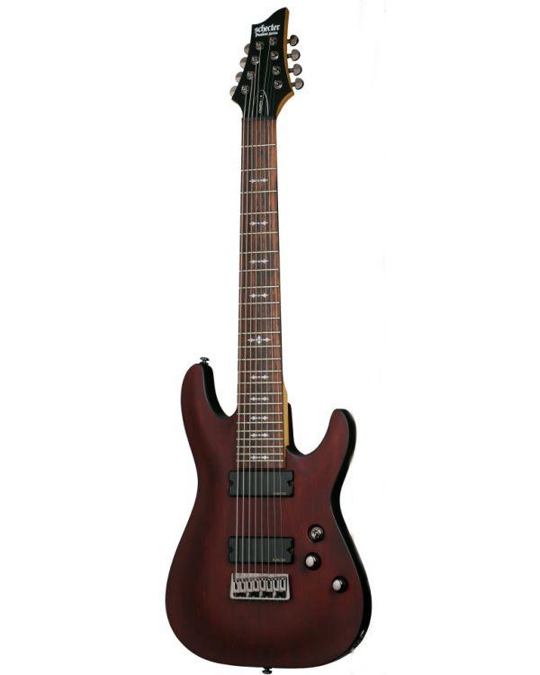 Schecter Omen-8  in Walnut Satin, 8 String Guitar