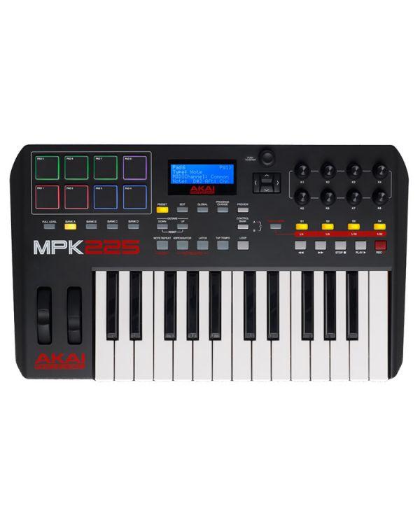 Akai MPK225 USB MIDI Pad & Keyboard Controller