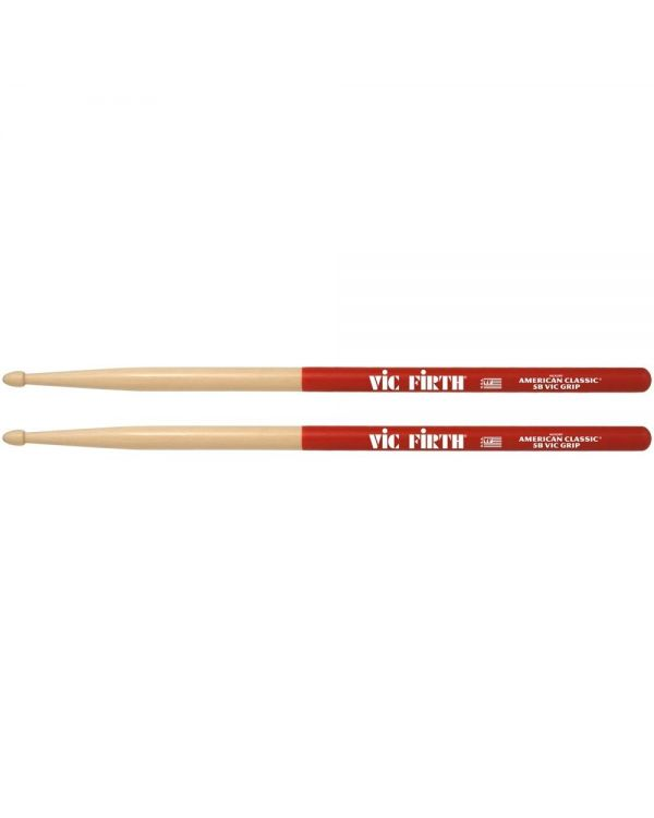 VIC Firth American Classic 5B Drumsticks With VIC Grip (pair)