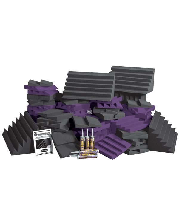 Auralex D108L DST Roomintor Kit in Charcoal / Purple