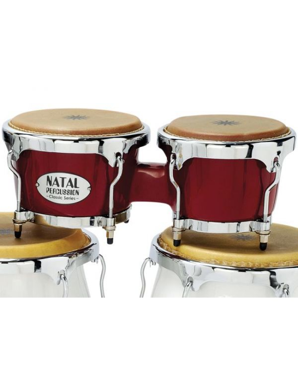 Natal Classic Series Fibreglass Bongos in Red