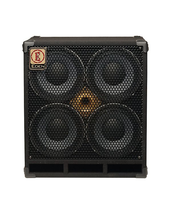 "Eden D410XST-4 4x10"" 1000W Bass Speaker Cabinet, 4ohm"