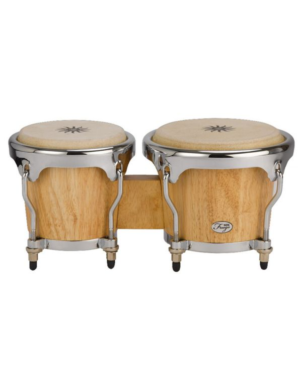 Natal Fuego Series Natural Wood Bongos, Matt Natural