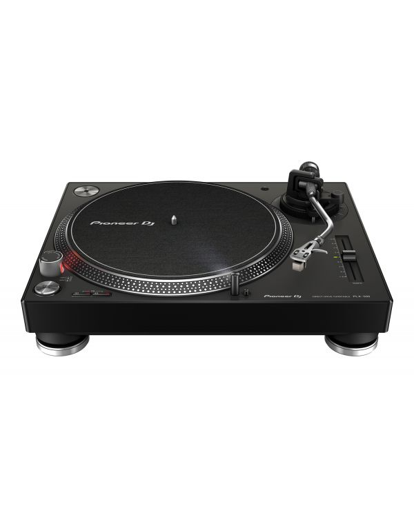 Pioneer PLX-500 Direct Drive USB Turntable, Black