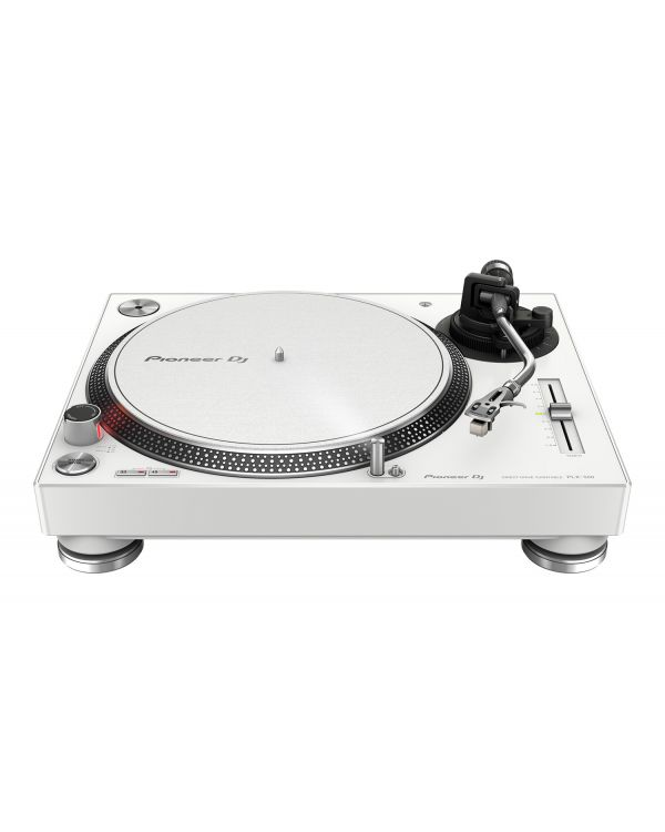 Pioneer PLX-500 Direct Drive USB Turntable, White