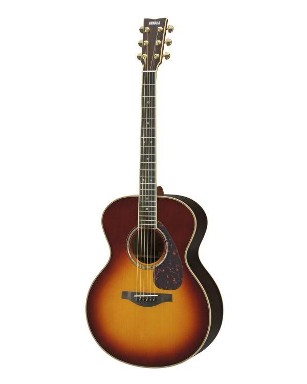 Yamaha - LJ16 - Medium Jumbo Acoustic Guitar in Brown Sunburst