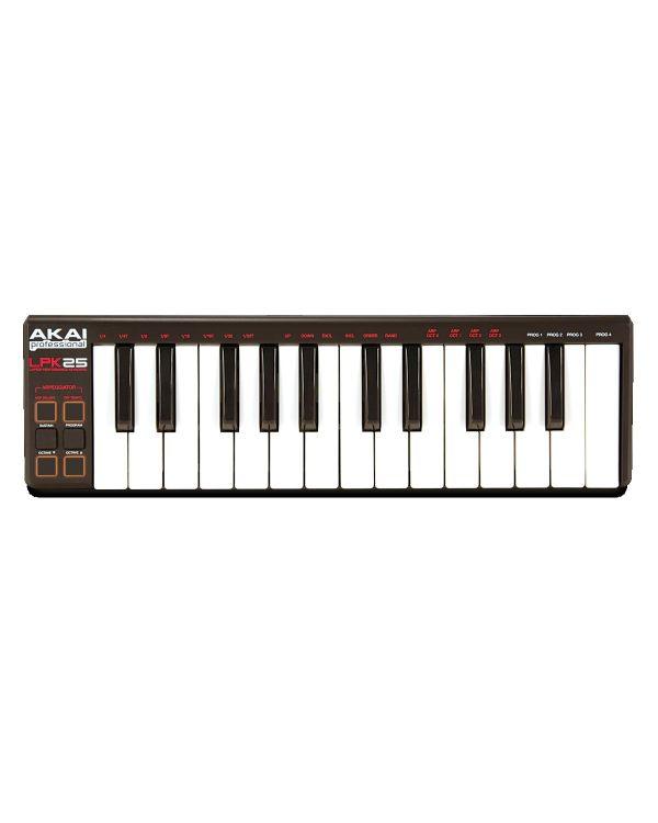 Akai Professional LPK25 Mini USB Keyboard
