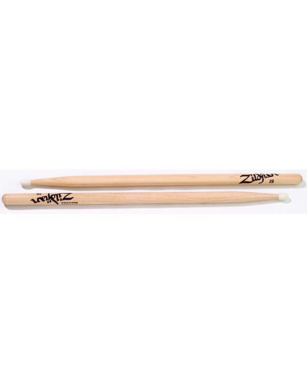 Zildjian 2B Nylon Tipped Drum Sticks