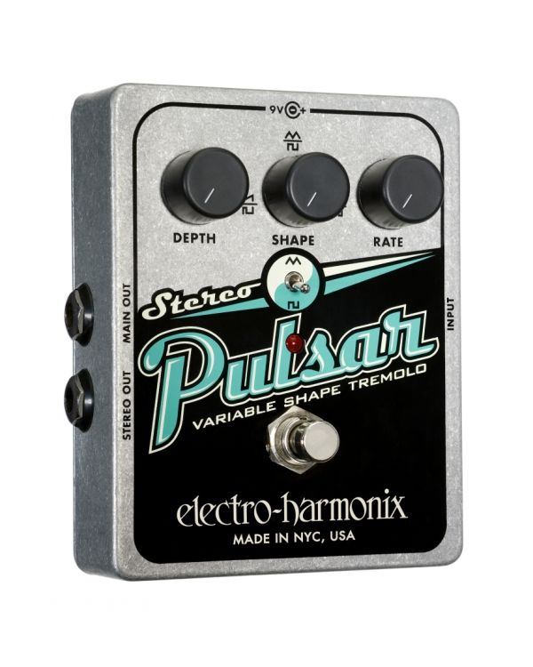 Electro Harmonix Stereo Pulsar Guitar Effects Pedal