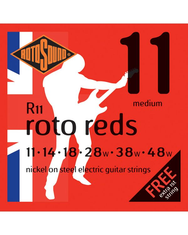 Rotosound R11 Roto Reds Electric Guitar Strings 11-48