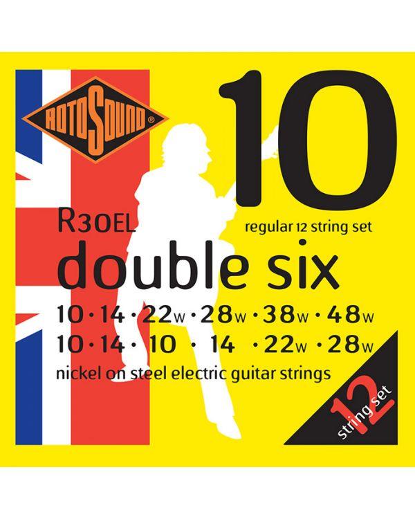 Rotosound Rotos 12 String Acoustic Guitar Set, 10-28