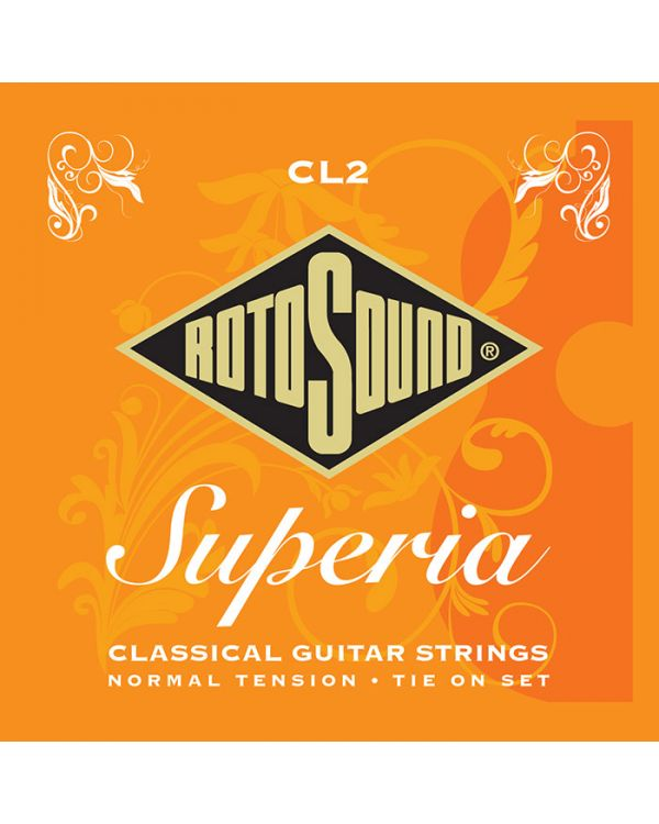 Rotosound CL2 Superia Nylon Tie-On Classical Guitar Strings