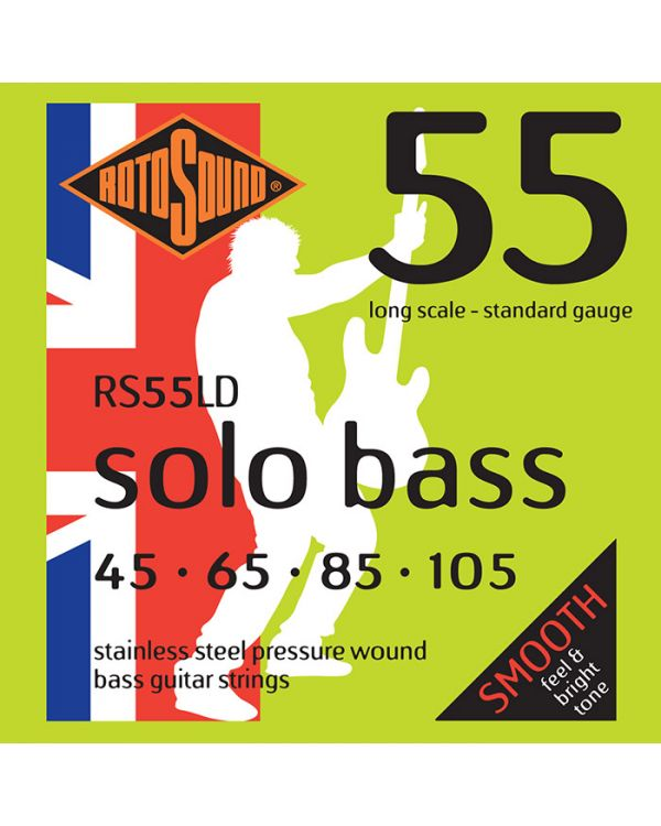 Rotosound Solo Bass Strings 55 - 45 65 85 105
