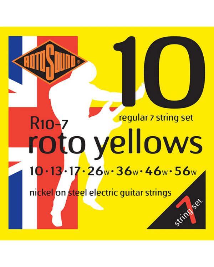 Rotosound Roto 7 String EG Regular SET 1