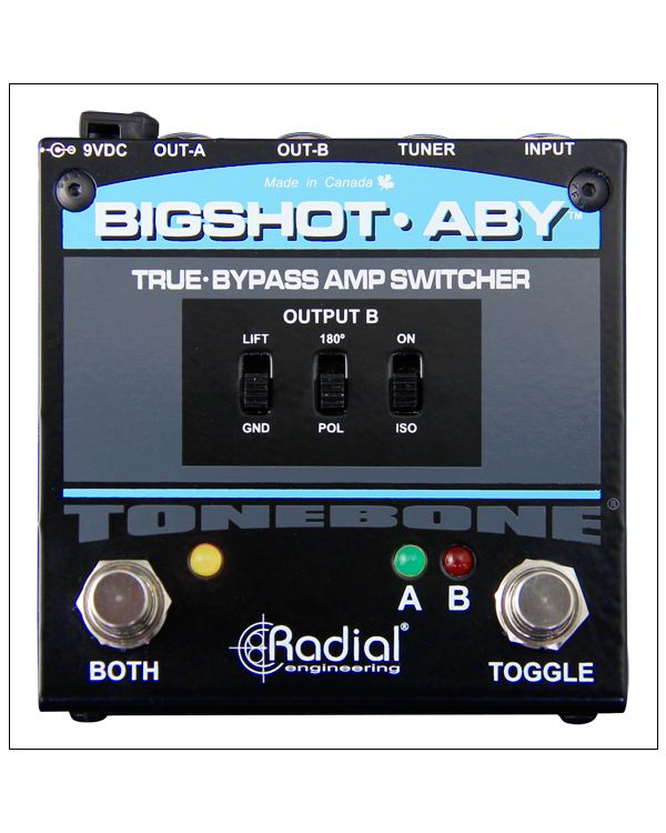 Tonebone BigShot ABY True Bypass Switcher