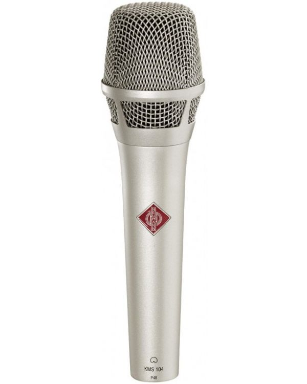 Neumann KMS 104 NI Hand Held Live Condenser Microphone in Nickel