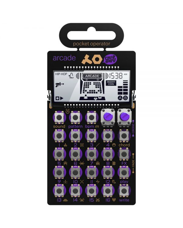 Teenage Engineering PO-20 Arcade Synth Sequencer