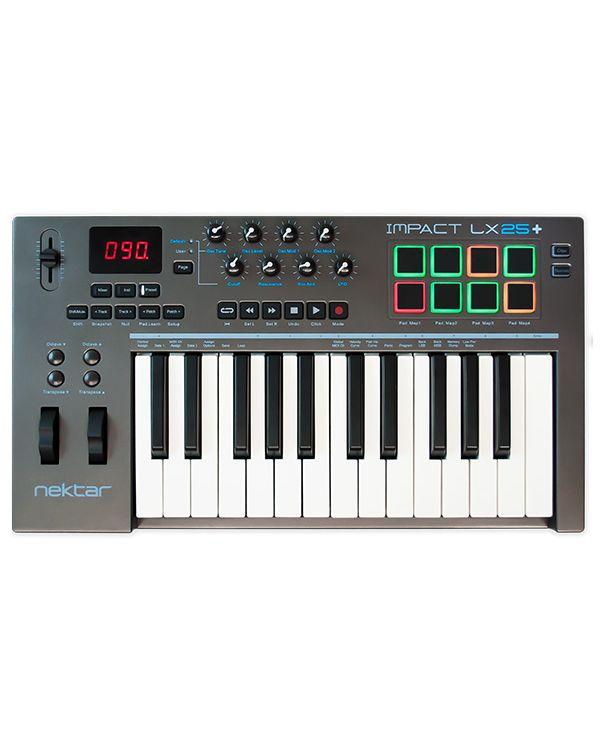 Nektar Impact LX25+ MIDI Controller Keyboard