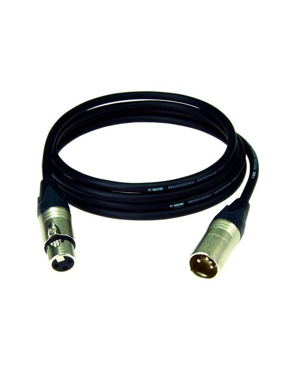 Klotz M1 N XLR Female to Male M1 Microphone Cable Black 10 m