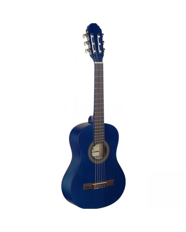 Stagg C410 M 1/2-sized Classical Guitar, Blue