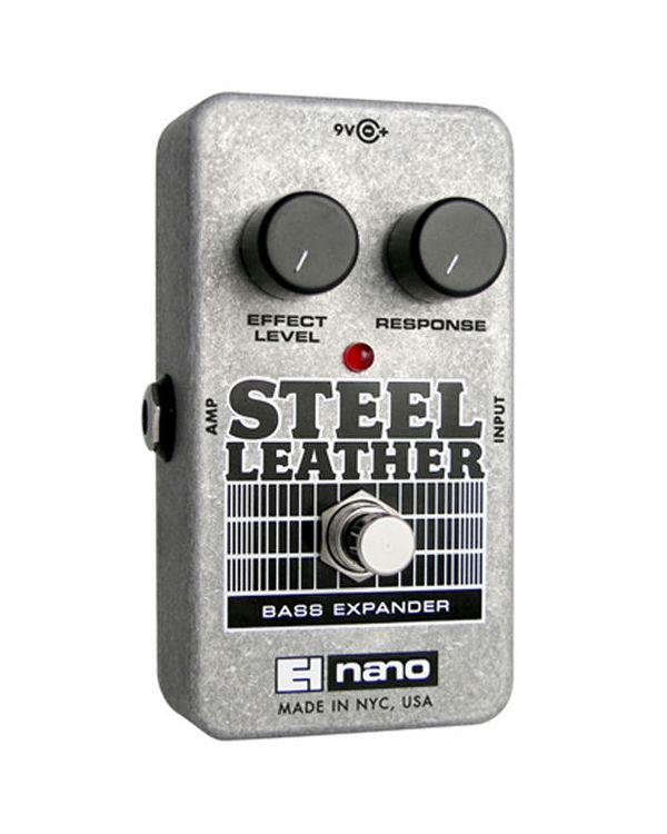 Electro Harmonix Steel Leather Attack Bass Expander Effects Pedal