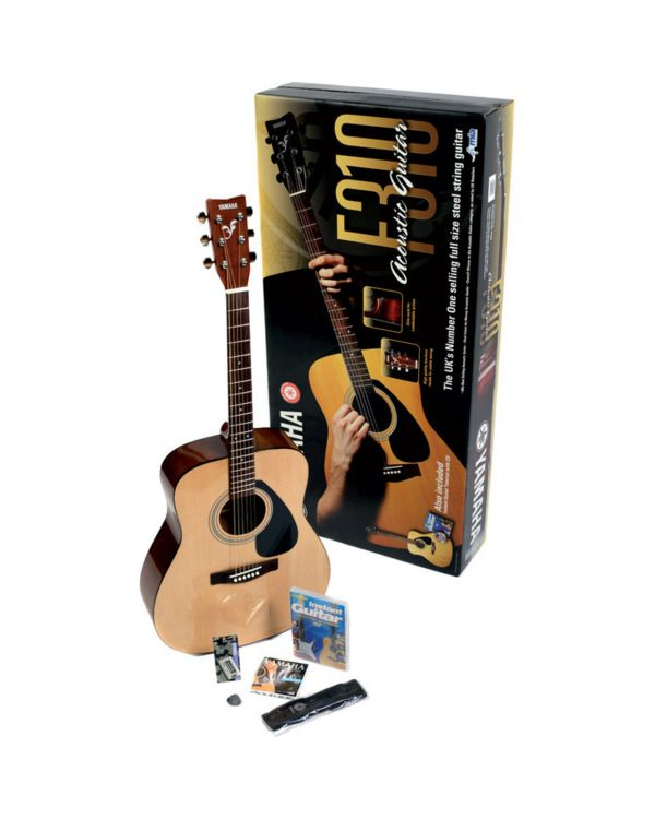 Yamaha F310 Acoustic Guitar Deluxe Beginners Pack