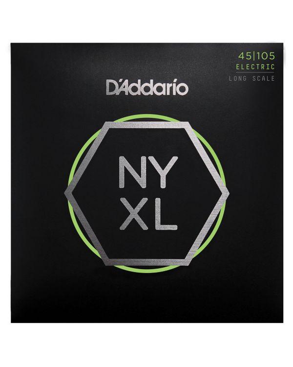 DAddario NYXL45105 Bass Guitar Strings Light 45-105 Long Scale