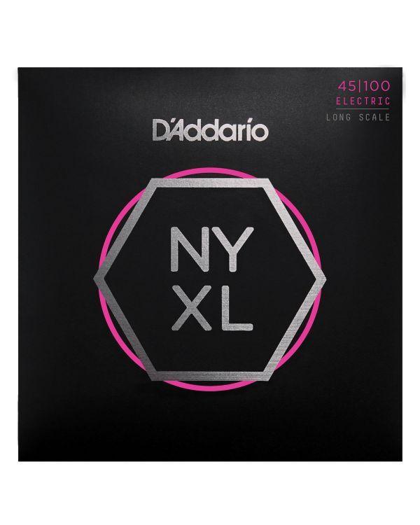 DAddario NYXL45100 Bass Guitar Strings Regular Light 45-100 Long Scale