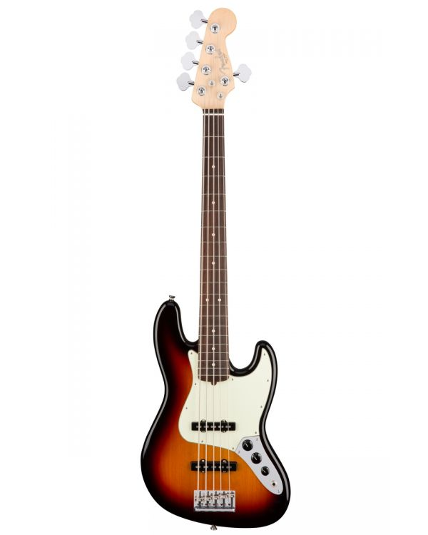 Fender American Professional Jazz Bass V, RW, 3-Tone Sunburst
