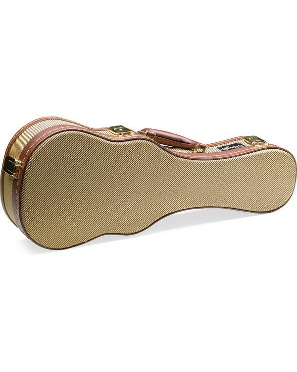 Stagg GCX-UKS GD – Gold Tweed Deluxe Hardshell Soprano Ukulele Case