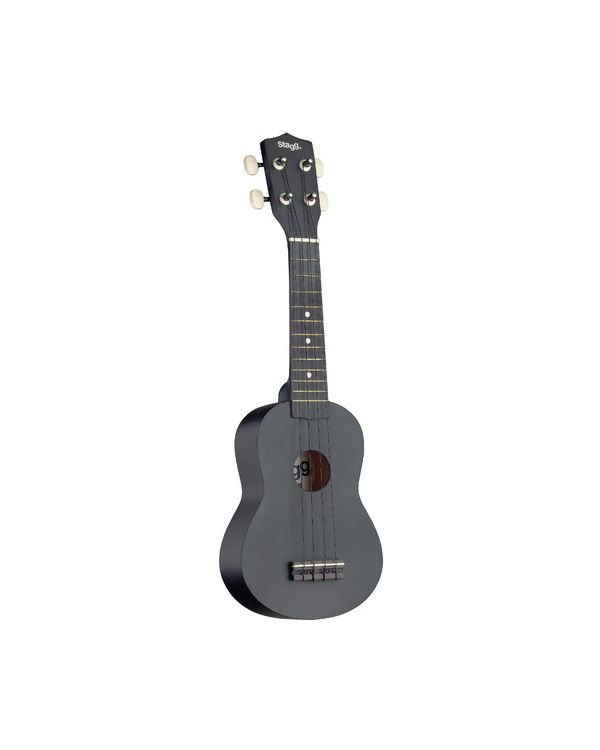 Stagg US10 Soprano Ukulele Night and Gigbag