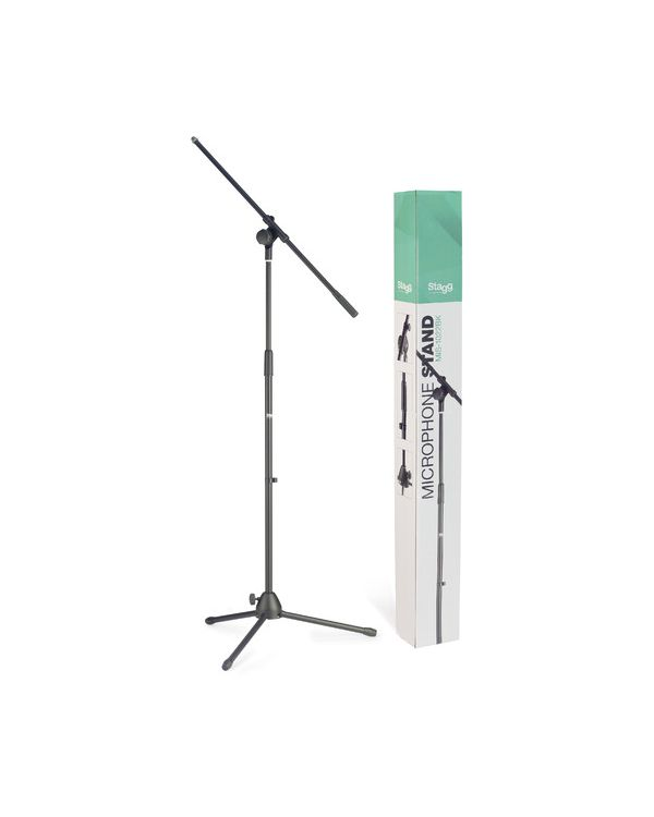 Stagg MIS-1022BK Microphone Boom Stand