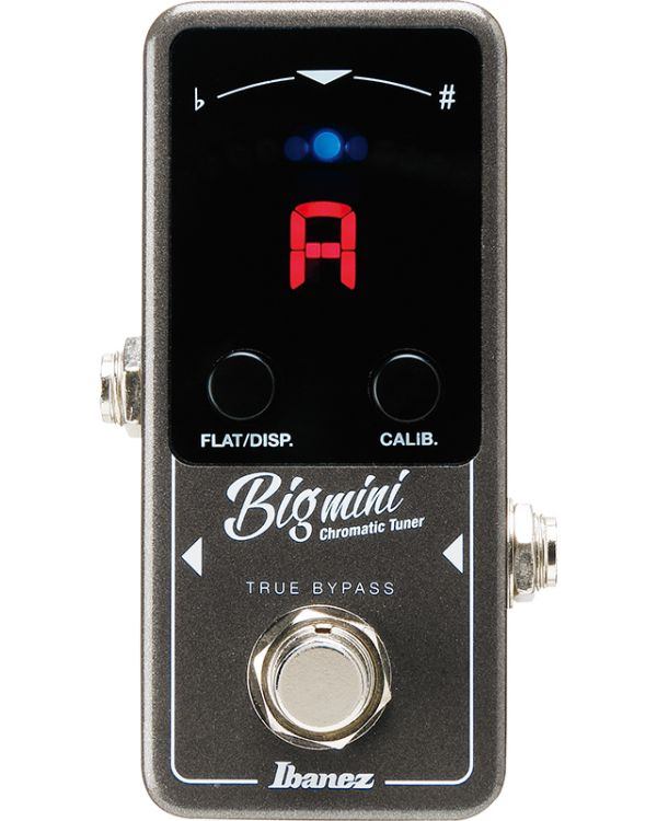 Ibanez BIGMINI Chromatic Guitar Tuner Pedal