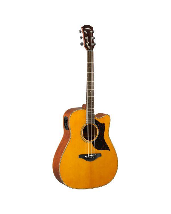 Yamaha A1M MK2 Western Mahogany Electro Acoustic, Vintage Natural