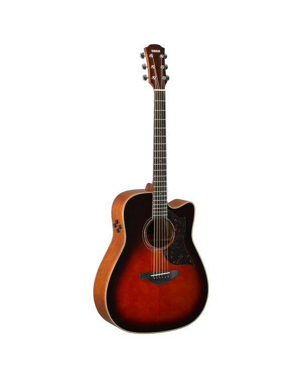 Yamaha A3M ARE Mahogany Electro Acoustic, Tobacco Brown Sunburst