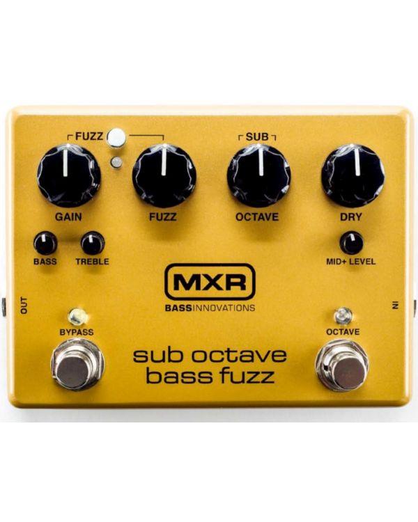 MXR Sub Octave Bass Fuzz Pedal